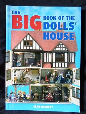 The Big Book of the Dolls' House Jean Nisbett 1/12 & 1/24 Scale NEW IMPERFECT
