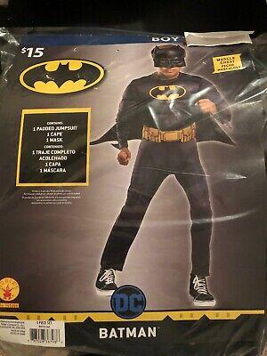 Halloween Costume Boy's Batman Small,  Medium or Large