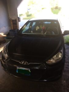 2012 Hyundai Accent as is