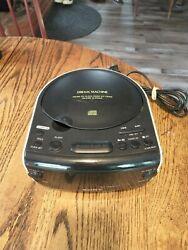 Sony Dream Machine FM AM CD Player Dual Alarm Clock Radio Model ICF-CD815