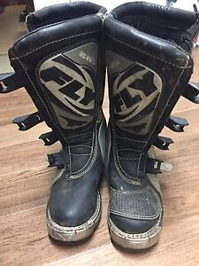 Size 7 motocross boots
