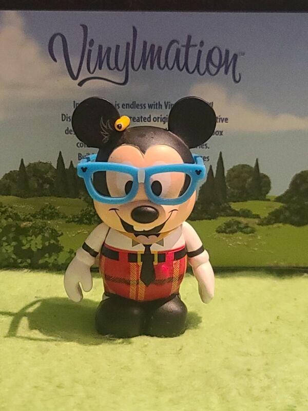 """DISNEY VINYLMATION Park - 3"""" Set 1 Nerds Rock Mickey Mouse"""