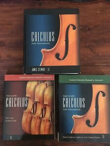 Calculus: Early Transcendentals Textbook