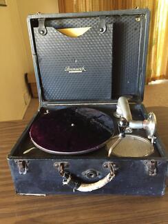 Two Brunswick record player
