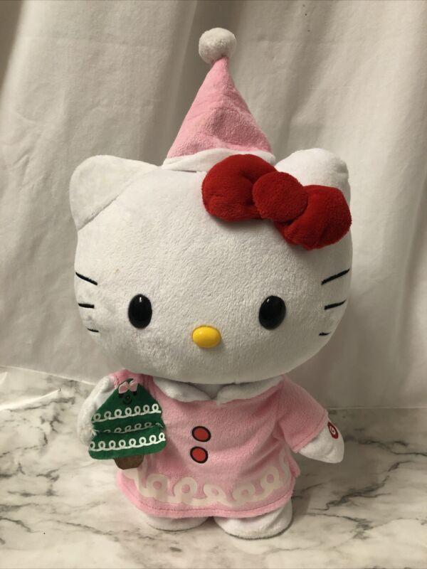 Hello Kitty Christmas Animated Plush
