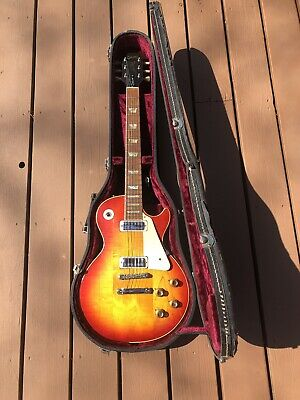 VINTAGE RARE 1972 GIBSON LES PAUL DELUXE GUITAR UNREAL!!