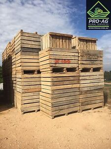 Wooden boxes for raised garden beds or firewood boxes and more... Littlehampton Mount Barker Area Preview