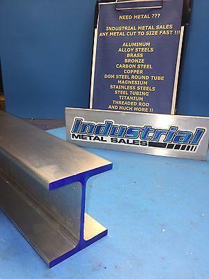 I Beam 6061 T6 Aluminum 3 X .150 X 2.5 X 12-long