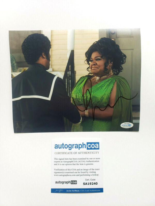 Da'Vine Joy Randolph Signed Autographed 'Dolemite Is My Name' 8x10 Photo ACOA A