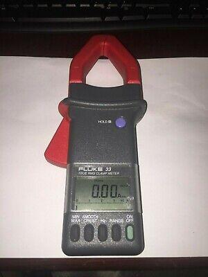 Fluke 33 True Rms Amp Clamp Meter