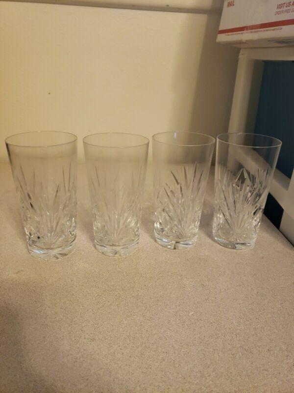 Set of 4 Durand Cristal D
