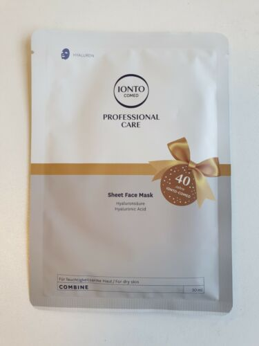 Ionto Comed Sheet Face Mask- Face Masks Hyaluron 3 x 30 ml