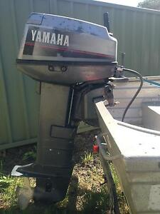 25hp Yamaha, 3.87m Tinnie on trailer (swap,sell,seperate) Gosford Gosford Area Preview