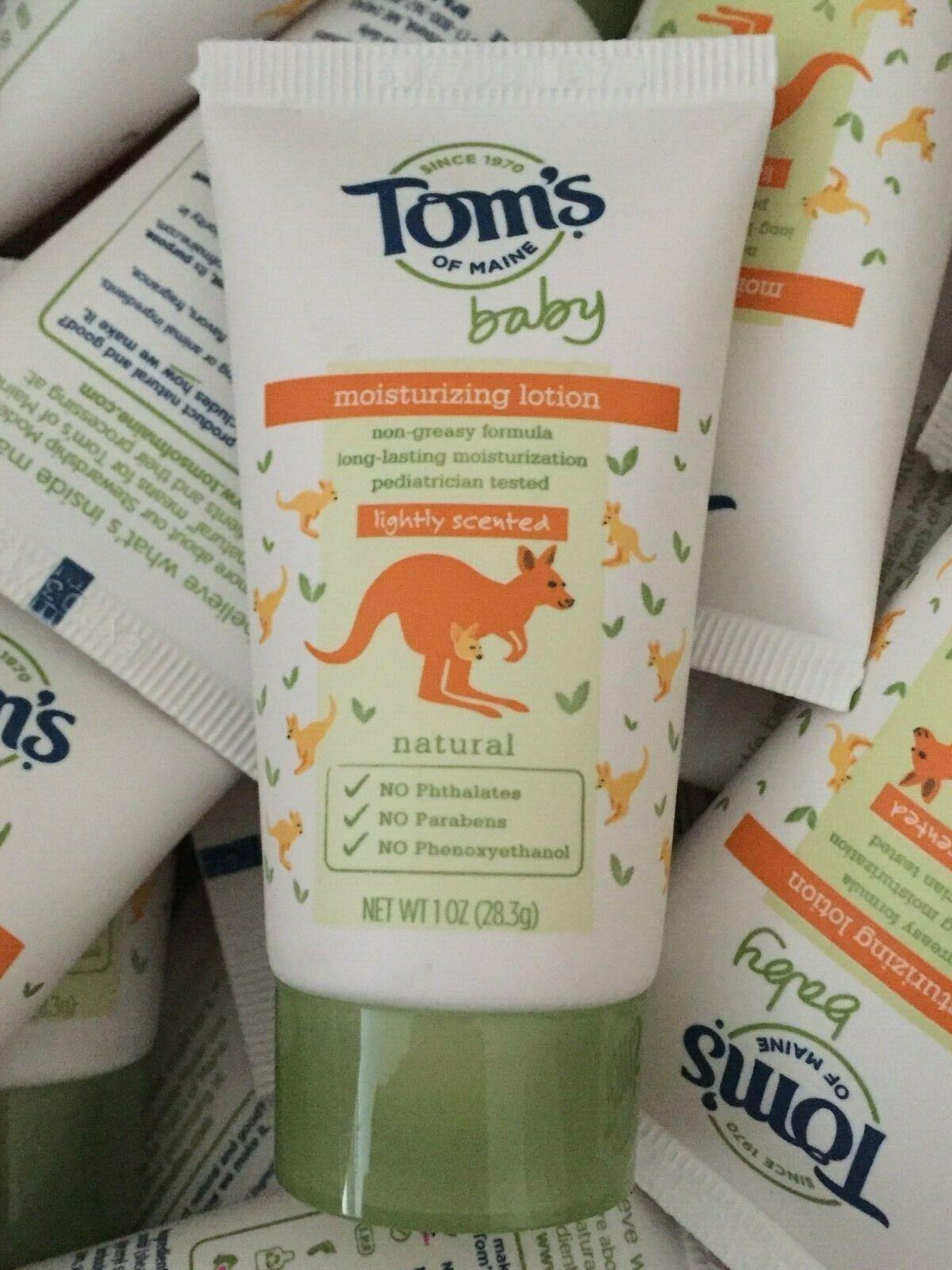 48 pk toms of maine baby moisturizing