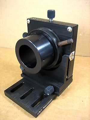 Newport Nrc Lp-2 Optical Lens Mount With 1-12 Id Tube Attatchment
