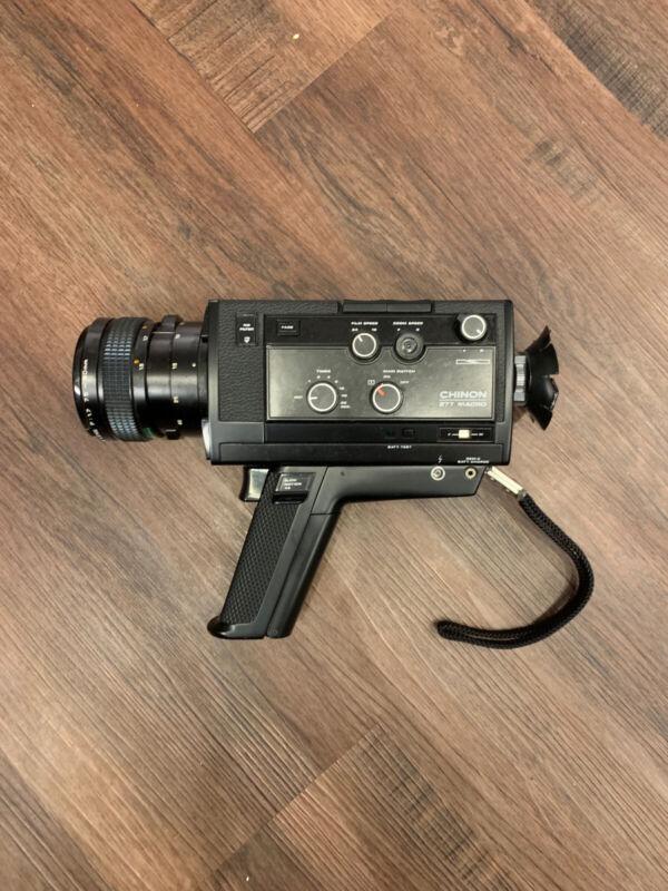 Chinon Super 8 877 Macro Film Vintage Camera
