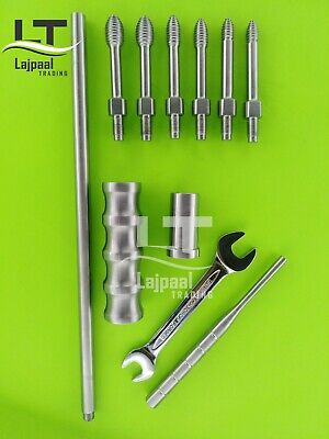 Intramedullary Nail Extractor Universal Orthopedic Instruments 11 Pcs Set