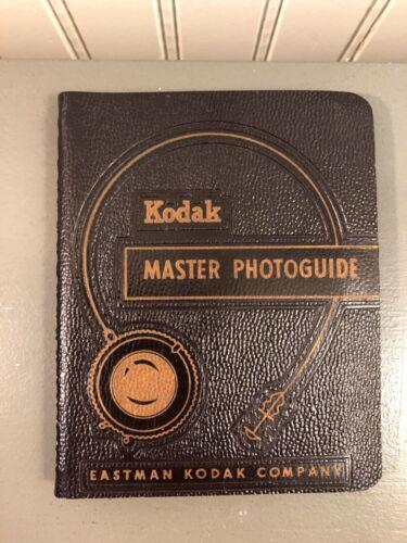 Vintage 1957 Kodak Master Photoguide Eastman Kodak Company