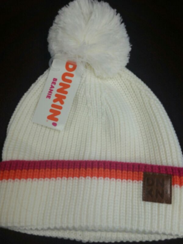 Dunkin Donut White Beanie 2019 New with tag