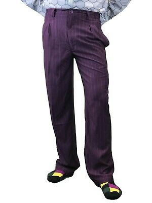 Costume Of Joker (JOKER CROWN PRINCE OF CRIME PURPLE COSTUME PANTS)