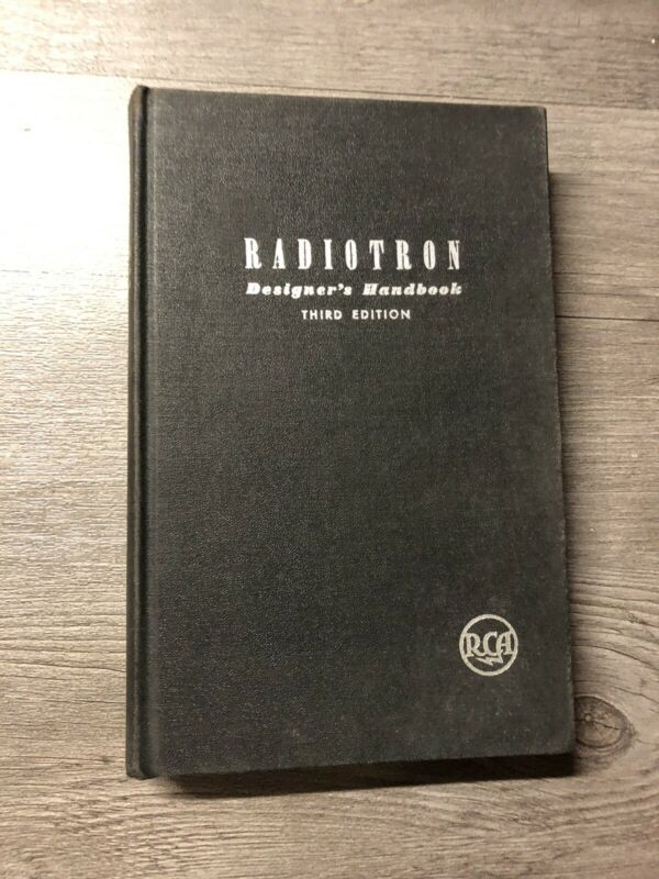 RCA Radiotron Designer's Handbook Third Edition November 1941