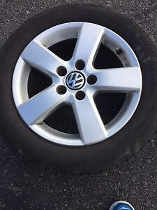 Michelin tires and VW wheels