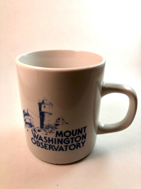 Mount Washington Observatory NH Mug