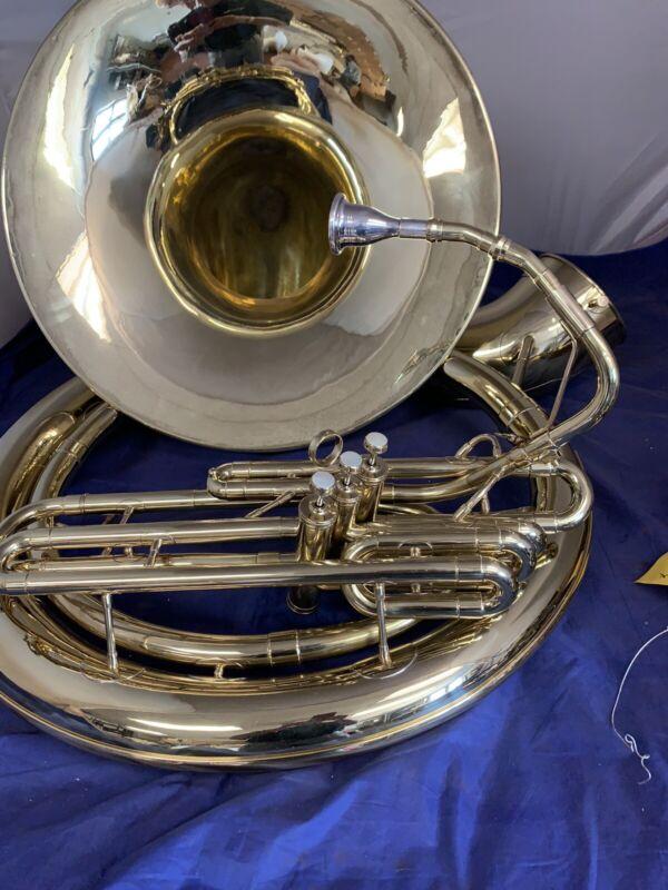 Olds Bb sousaphone overhauled 26 size
