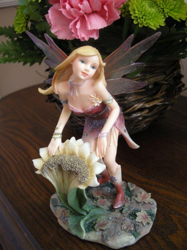 "Faerie Glen band series fairy Figurine ""SUNTYME""  FG8027 BNIB RETIRED"