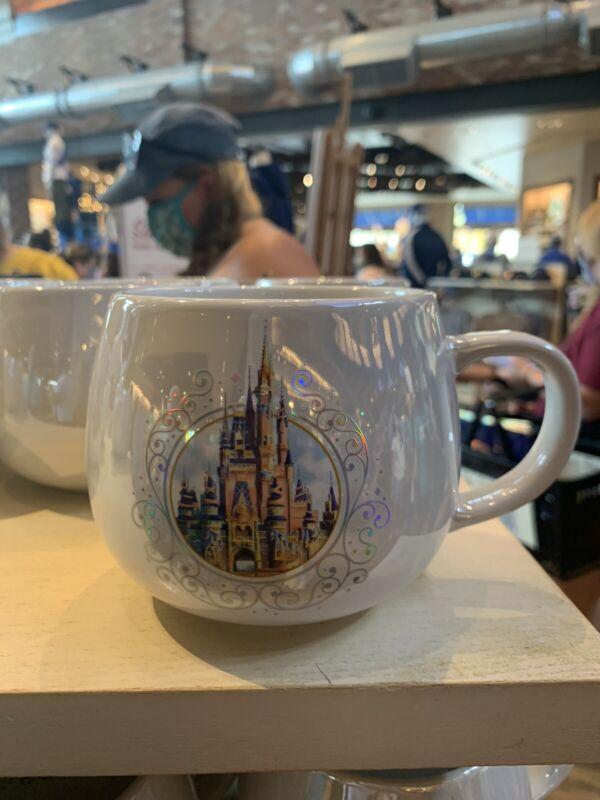 Walt Disney World 50th Anniversary Castle Mug