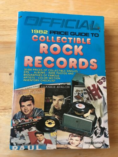 Official 1982 Price Guide Collectible Rock Records. PB