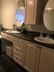 Bathroom cabinets and accessories