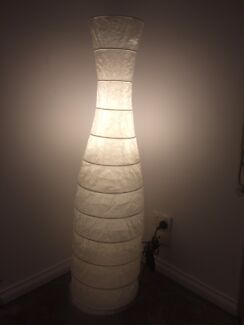 floor lamp paper white colour living room bedroom