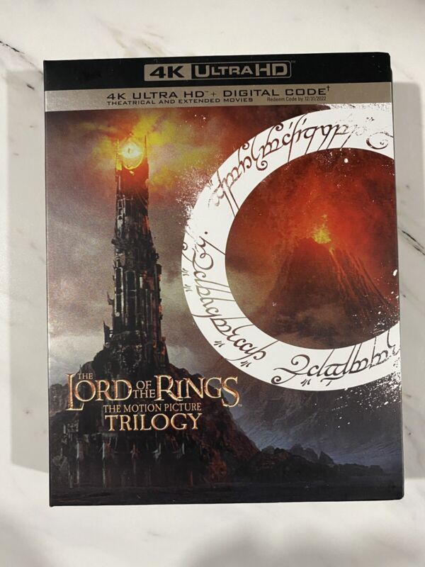 The Lord of the Rings: The Motion Picture Trilogy 4K Ultra HD No Digital Used