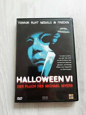 Halloween VI 6 Der Fluch des Michael Myers Dvd Rarität OOP