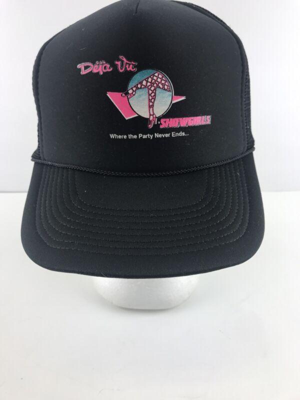 Deja Vu Showgirls Trucker Snapback Hat Strip Club