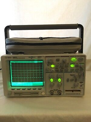 Agilent 54641d Mixed-signal Digital Oscilloscope Logic Analyzer 2 16 Ch 350 Mhz