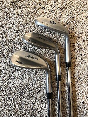 Acer Nextt Chrome Wedge Set Gap Sand Lob 50 56 60 Apollo Stiff Flex Steel RH 52