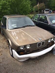 '86 & '84 BMW's 325e'a for parts or driving