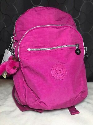 Kipling Seoul GO S Very Berry Small / Medium Backpack Travel School Bag