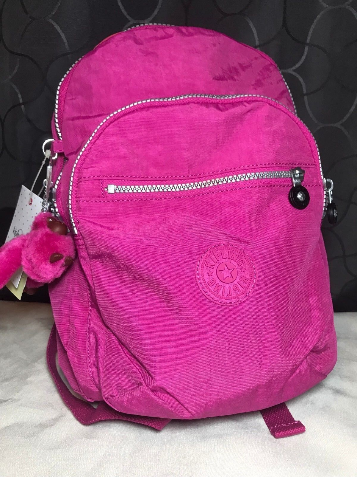 Kipling Seoul GO S Very Berry Small / Medium Backpack Travel