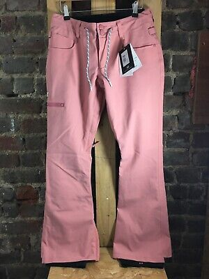 Dc Shoes Womens Snowboard Ski Pants ~ Pink ~ Size S ~ New.       I001