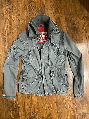 SuperDry JPN Japan Jacket  Military Army Mens Small