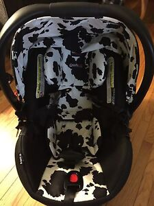 Britax cowmooflauge infant car seat
