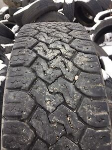 LT 245/75R 17 Toyota open country C/T set of four tires.