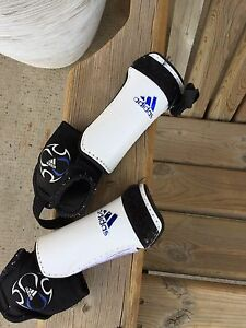 Child's soccer shin pads