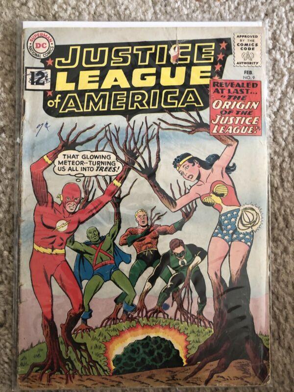 Justice League of America #9 (Feb 1962, DC)