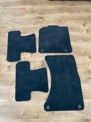 2009-2017 Audi Q5 Factory OEM Carpet Floor Mats 4 Piece Set