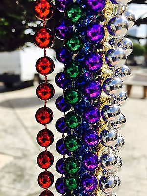 NEW 80 Birthday mardis gras parade PARTY Beads Strands Necklaces Parties 36