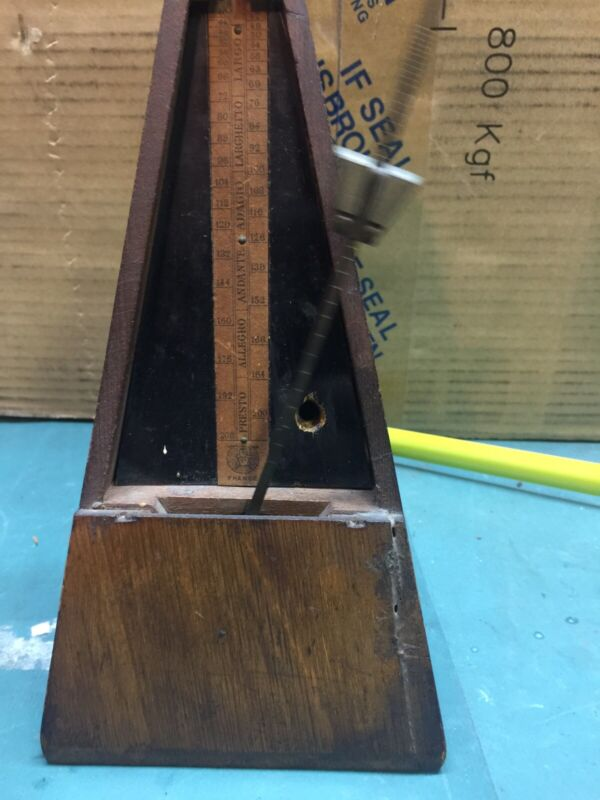 Antique very early Maelzel Paquet France Metronome